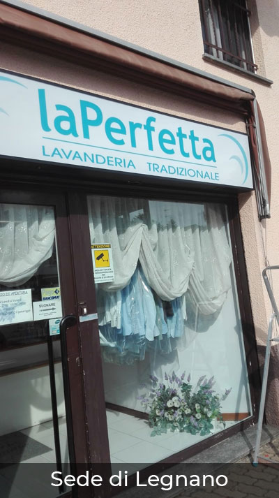 Lavanderia laPerfetta di Saronno